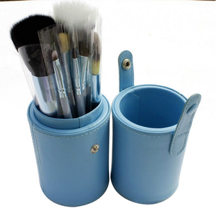 Make Up Brush Set In Blue 12 pcs * Free Shipping *