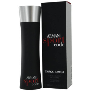 Armani Sport Code For Men Eau de Toilette 2.5 oz Spray