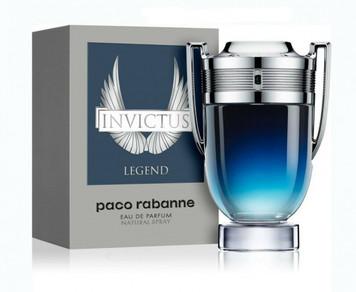 Invictus Legend By Paco Rabanne For Men 3.4 oz Eau de Parfum