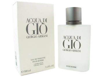 Acqua Di Gio Eau de Toilette For Men 3.4 oz Spray