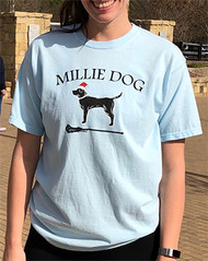Millie Dog Santa short sleeve tee