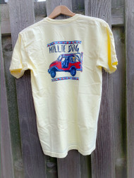 Millie Dog LAX jeep short sleeve - Banana