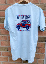 Millie Dog LAX jeep short sleeve - chambray