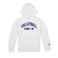Volleyball Champion Hood - color White