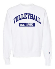 Volleyball Champion crew neck - color white