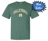 Volleyball clover short sleeve - color light green