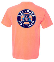 Lax Jeep short sleeve - color neon red orange