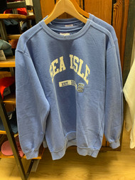 SIC EST classic crewneck - color Flo Blue