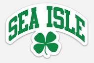 SIC clover sticker