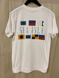 SIC watercolor short sleeve tee - color white