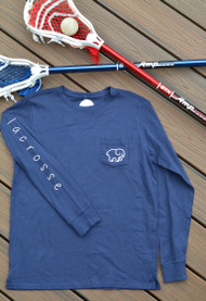 Ivory Ella Lacrosse long sleeve - color navy