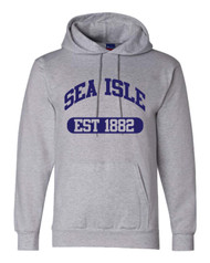 SIC Champion EST hoodie - color Lt Steel