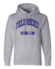 Field Hockey Champion brand EST hoodie - color Lt Steel