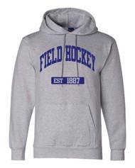 Field Hockey Champion brand EST hoodie - color Lt Steel