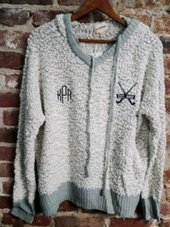 Field Hockey Soft Hood with monogram