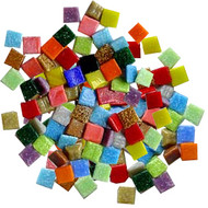 Assorted Glass Tiny Tile