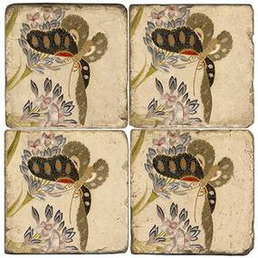 Butterfly Coaster Set