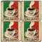 Italian Cafe Coaster Set. Handcrafted Marble Giftware by Studio Vertu.