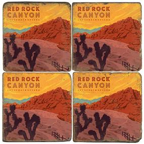 Red Rock Canyon Park.  License artwork by Anderson Design Group. Handcrafted Marble Giftware by Studio Vertu.