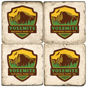 Yosemite National Park. License artwork by Anderson Design Group. Handcrafted Marble Giftware by Studio Vertu.