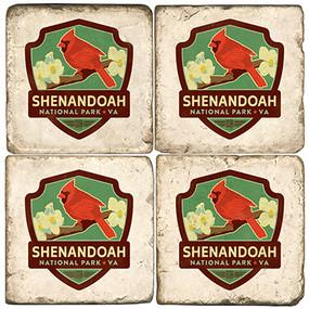 Shenandoah National Park. License artwork by Anderson Design Group. Handcrafted Marble Giftware by Studio Vertu.