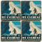 Mt. Everest Coaster Set. Handmade by Studio Vertu. License artwork by Anderson Design Group.