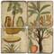 Exotic Fruit Coaster Set. Handmade Marble Giftware by Studio Vertu.