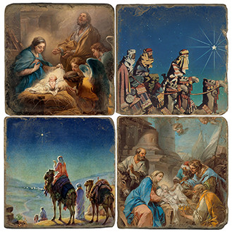 Bethlehem Coaster Set