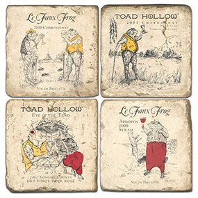 Toad Hollow Set. Handcrafted Marble Giftware by Studio Vertu.