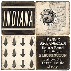 Indiana Coaster Set