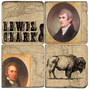 Lewis & Clark Coaster Set