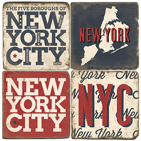 New York City Coaster Set