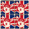 British Corgi Coaster Set.  Handmade Marble Giftware by Studio Vertu.