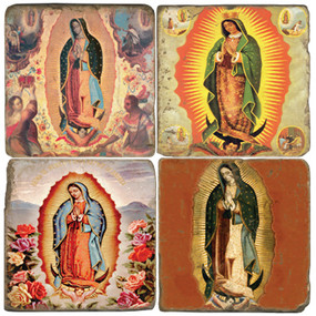 Virgin of Guadalupe II Coaster Set