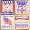 Republican Party Coaster Set