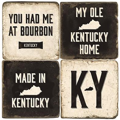 Kentucky Themed Coaster Set