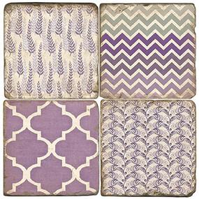 Lavender Coaster Set