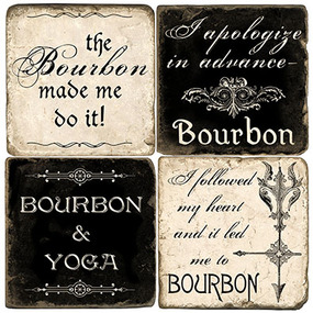 The Bourbon Coaster Set