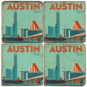 Austin Texas Coaster Set