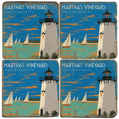 Martha's Vineyard Coaster Set
