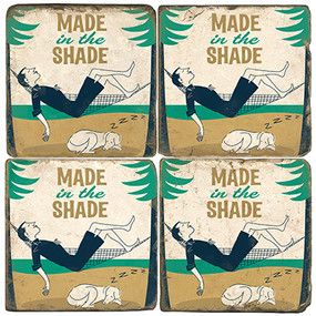 Lazy Day Coaster Set.  Illustration by Anderson Design Group.