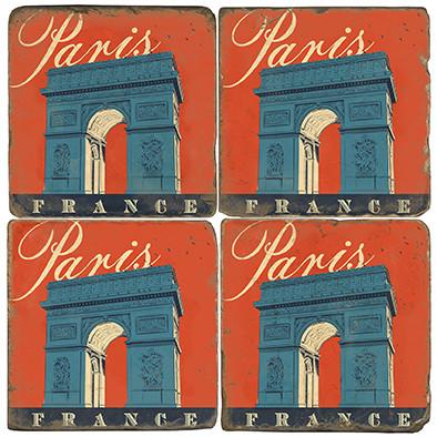 Arc de Triomphe Paris, France. Illustration by Anderson Design Group.