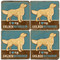 Golden Retriever Coaster Set. License artwork by Anderson Design Group.