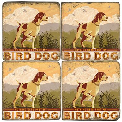 Bird Dog Coaster Set. License artwork by Anderson Design Group.