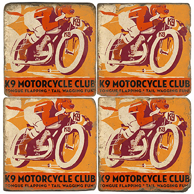 K9 Motorcycle Club.  License artwork by Anderson Design Group.