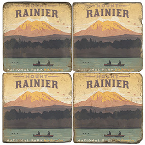 Mount Rainier National Park. License artwork by Anderson Design Group.