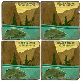 Black Canyon National Park. License artwork by Anderson Design Group.