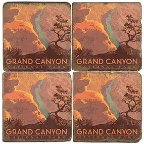 Grand Canyon National Park.  License artwork by Anderson Design Group.