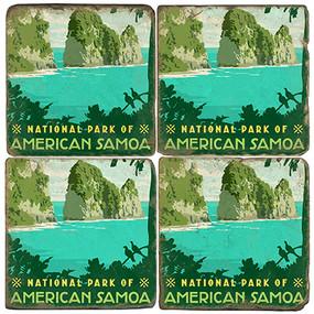 American Samoa National Park. License artwork by Anderson Design Group.