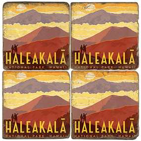 Haleakala National Park. License artwork by Anderson Design Group.